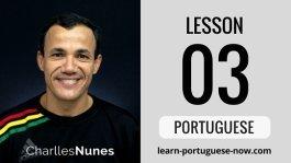 Portuguese Lessons with Charlles Nunes